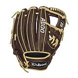 """Best Wilson Sporting Goods Baseball Gloves - Wilson Showtime Baseball Gloves, Brown/Blonde, 11.5"""", Right H Review"""