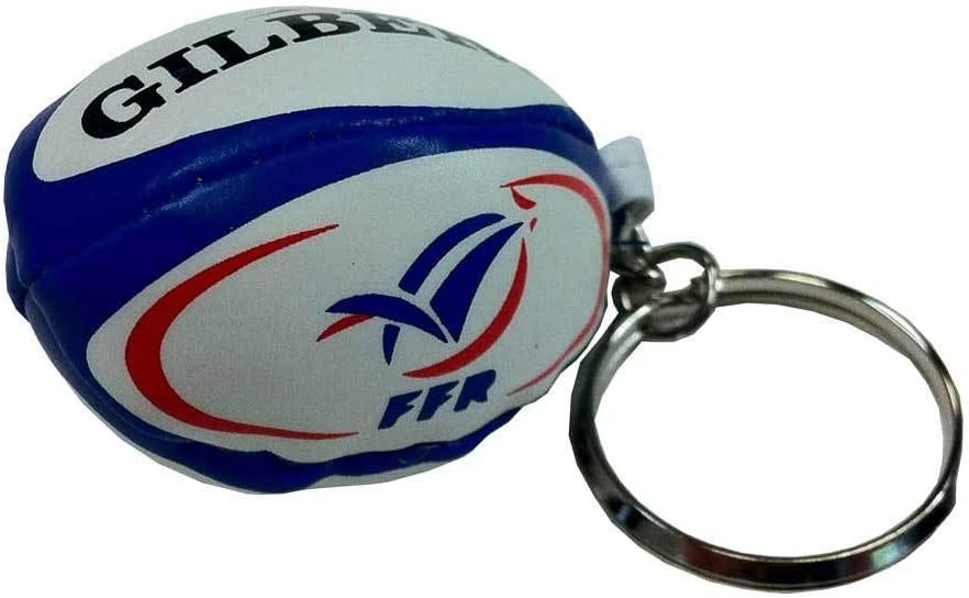Gilbert - Llavero Unisex de Rugby de Francia, Multicolor, Talla única: Amazon.es: Deportes y aire libre