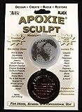 Aves Apoxie Sculpt Black 2-Part Self-Hardening Modeling Compound 1/4 lb