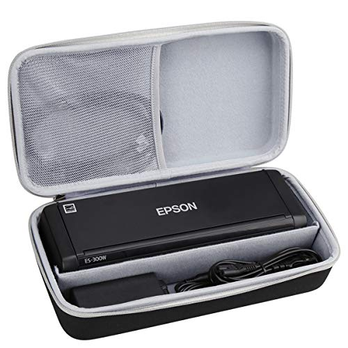 Aproca Hard Carry Travel Case fit Epson Workforce ES-300W Wireless Color Portable Document Scanner