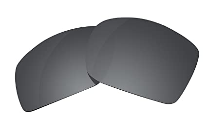 782f8c1902 Polarized Lenses Replacement for Oakley Big Taco Sunglasses Lenses  Replacement (Stealth Black)