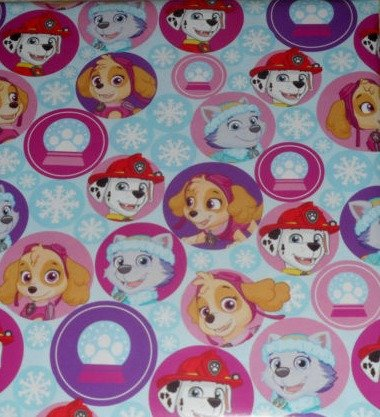 Paw Patrol Childrens Gift Wrap Wrapping Paper