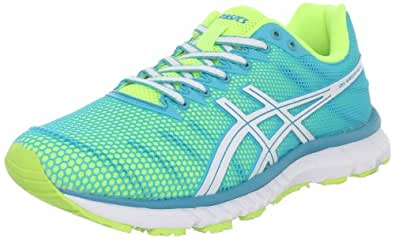 ASICS Women's Gel Speedstar 6 Running Shoe,Limeade/White/Turquoise,5.5 M US