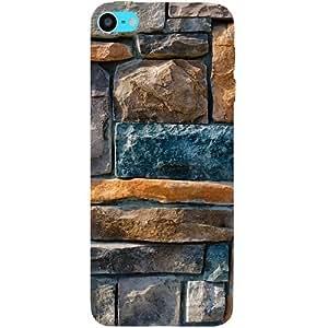 casotec diseño de revestimiento decorativo de piedra carcasa rígida para Apple iPod Touch 6th generación