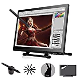 Ugee 2150 Graphics Tablet Digital Pen Drawing Monitor IPS Screen 21.5 Inches with 2 Original Pens,1 Protector Film and 1 Drawing Glove