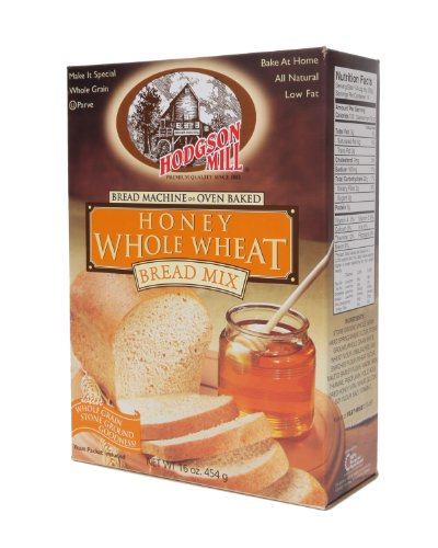 Hodgson Mill Honey Whole Wheat Bread Mix, 16 (Bread Mix)