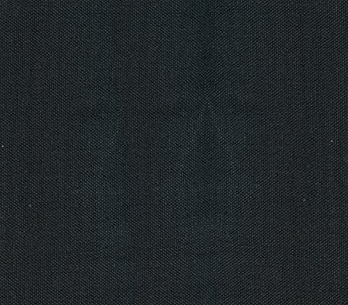 10 Ounce Duck Canvas (Canvas Duck Fabric 10 oz Dyed Solid BLACK / 60