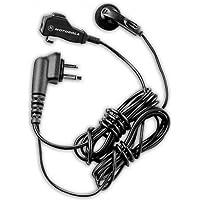 Motorola HMN8435A two wire earbud with clip microphone and PTT for BPR40, CP100, CP125, CP150, CP185, CP200, CT150, CT250, CT450, CT450LS, DTR Series, GP2000, GP350 (requires a Motorola HLN9482 adaptor), GP300, GP308, GP280, GP68, GP88, GTI, GTX, LTS2000, P040, P080, P110, P1225, P1225LS, PR400, PRO3150, SP10, SP21, SP50, XTN446, XTN500, XTN600, XV1100, XV2100, XU1100, XU2100, XU2600, VL130, VL50