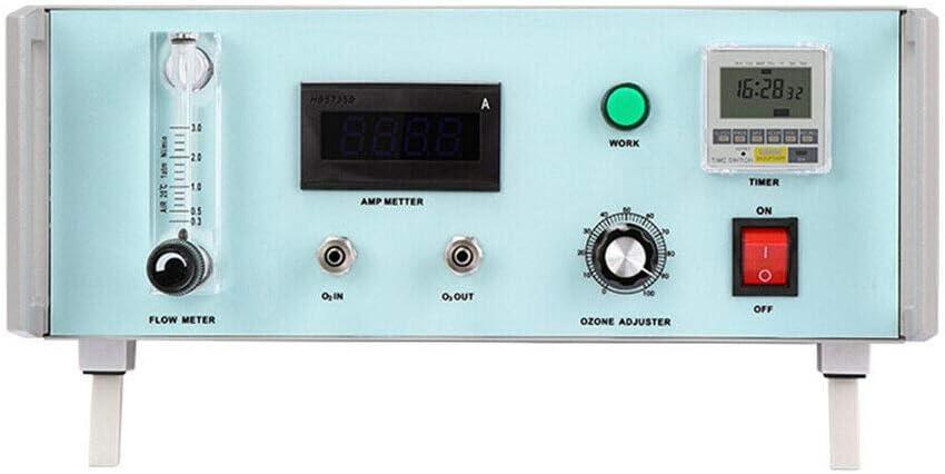 MONIPA-US Lab Ozone Generator Therapy Machine 3g/h 90W Medical Ozone Maker Laboratory Equipment USA Stock