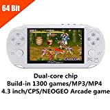 Best SEGA Handheld Consoles - JXD 64Bit 650 Games Handheld Game Console 4.3 Review