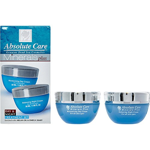 Absolute Care Minerals Plus, Moisturizing Day Cream + Bal...