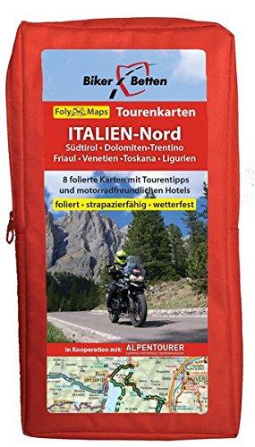Tourenkarten Set Italien Nord (FolyMaps): 1:250 000