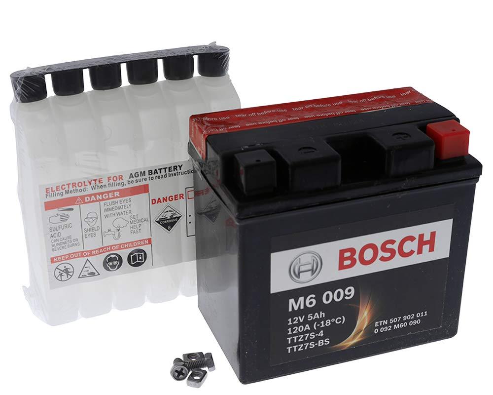 Batterie Bosch YTZ7S-BS 12 Volt[ inkl.7.50 EUR Batteriepfand ]