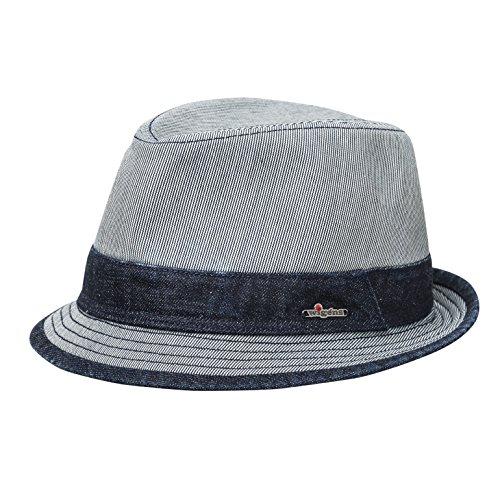 Wigens Frank Trilby Hat-BlueMelange-56 by Wigens
