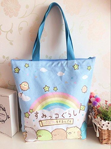 CJB Lovely Sanrio Sumikko Gurashi Shoulder Bag Blue Rainbow (US -