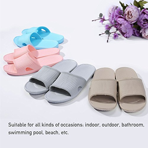 Men Casual Slipper House Soft Slide Anti Couple Blue Shower Sandals Slip amp;KATE Flat WILLIAM Sea Womens Bath xqXEpTIf