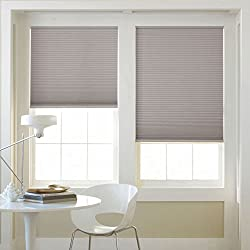 Window Blind Store Room Darkening Cordless Cellular Shade Rockefeller Gray 31x48