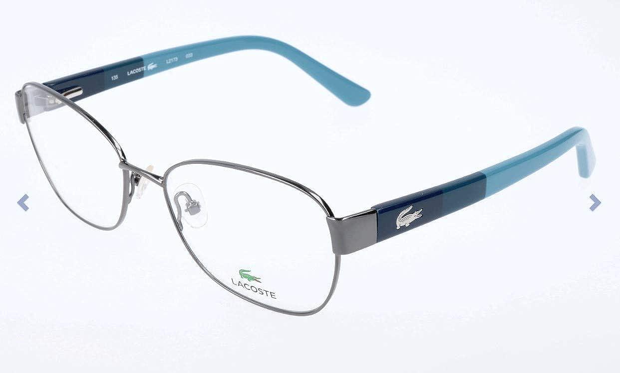 Blu Blau 53.0 Donna Lacoste Brillengestelle L2173 Montature