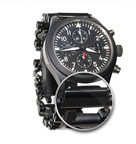 ChronoLinks Leatherman Tread Watch Adapter - Black DLC (18mm)