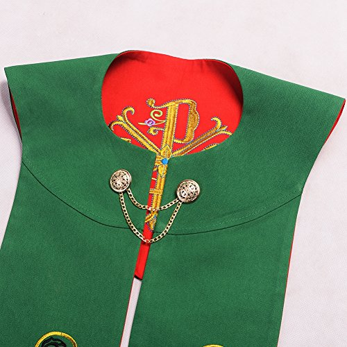 BLESSUME Priest Reversible Stole Embroidered Chasuble Stole by BLESSUME (Image #3)