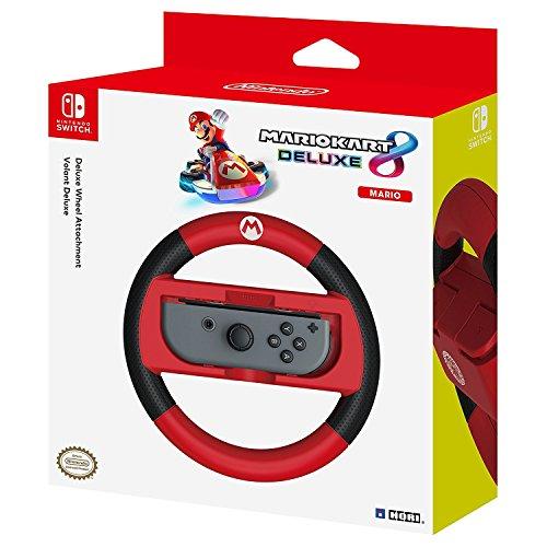 Full Racing Games (HORI Nintendo Switch Mario Kart 8 Deluxe Wheel (Mario Version) Officially Licensed By Nintendo - Nintendo Switch)