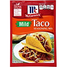 McCormick Mild Taco Seasoning Mix, 1 oz