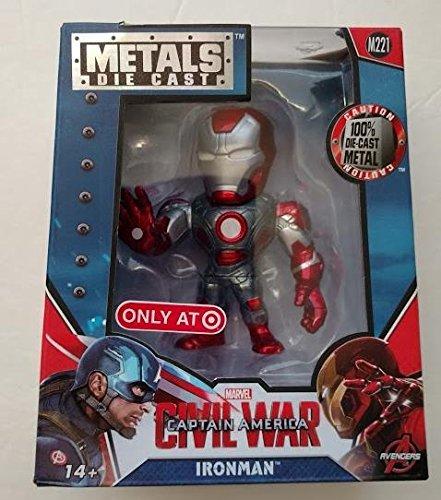 Captain America Civil War IRON MAN Metals Die-Cast M221 Excl