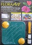 Flora Art Microwaveable Flower Press & Pot Pourri Maker w Bonus Utensils & Oil - Create Dried Flowers & Pot Pourri in Seconds! (From Canada)