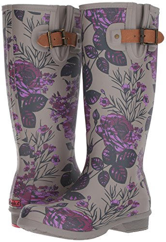 Chooka Women's Tall Memory Foam Rain Boot, Hattie, 10 M US