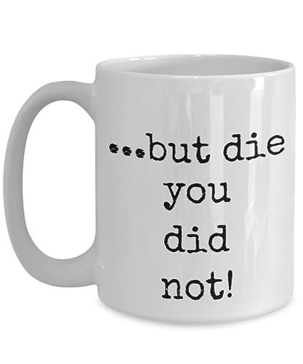 Amazoncom Coffee Mug Yoda Inspirational Quotes Coworker Gifts