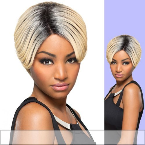 JULIANNE (Foxy Lady) - Heat Resistant Fiber Lace Part Wig in JET BLACK by Foxy ()