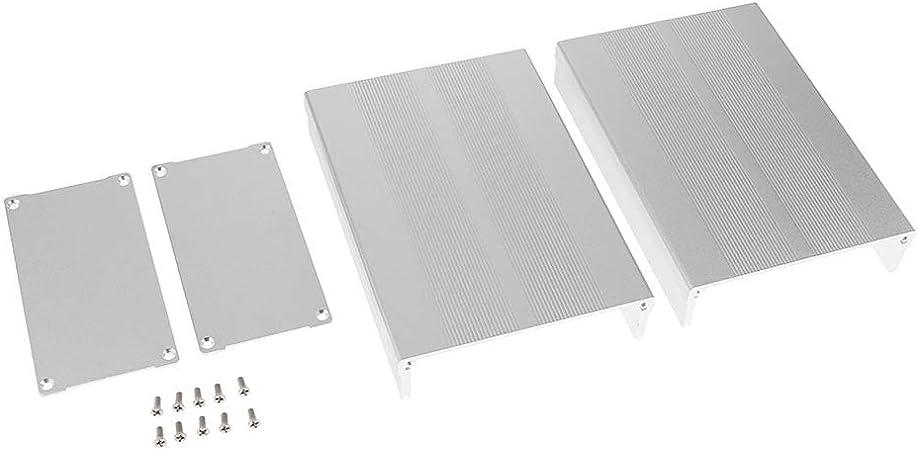 F Fityle Cubierta Tarjeta de circuitos Impresos (Aluminio ...