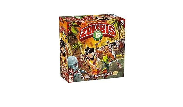 Devir BGHZOM. Juego de mesa Zombies 15. Edicion en castellano: Amazon.es: Juguetes y juegos