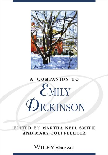 Handbook Emily Dickinson - A Companion to Emily Dickinson (Blackwell Companions to Literature and Culture)