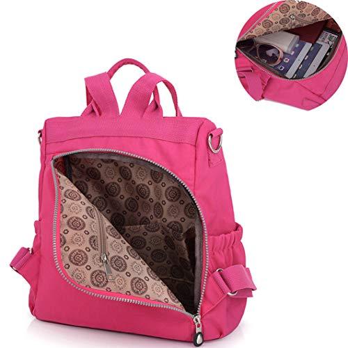 Backpack Lightweight Cross Girls Bag Nylon Body 8631 Messenger Waterproof Shoulder Women Mini purple Multifunction Daypack Nameblue Casual Bags Handbag 7w4SE5xIgq