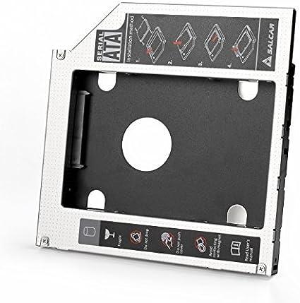 Salcar – Fe 2. HDD/SSD SATA Adaptador para Acer, ASUS, Medion ...