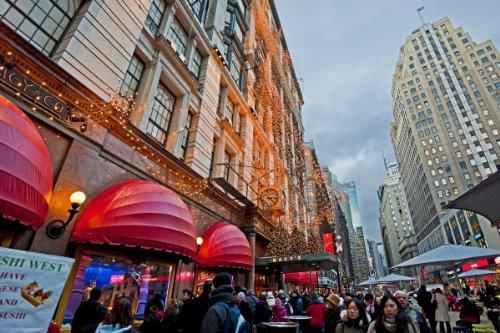 Macy's Department Store, Manhattan, New York City, New York, USA Giclee Art Print Poster or - New York City Macys Store