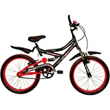 Avon Ozone 20T Cycle for Boys - Matt Black/Red
