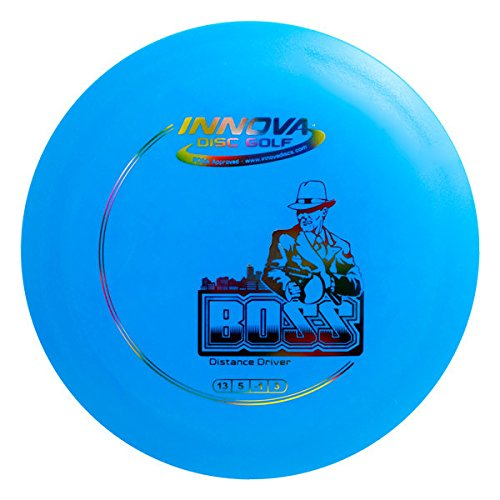 Innova Disc Golf DX Boss Golf Disc, 140-150gm (Colors may vary) - Innova Golf Tee