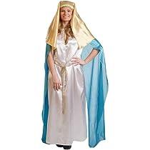 Disfraz de Virgen María para Mujer talla Universal M-L: Amazon.es ...