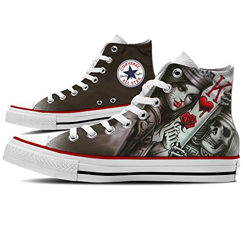 Sneaker Scarpe Converse Personalizzate King Card by YourStyle
