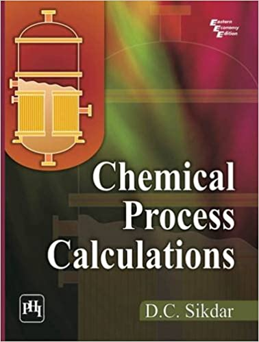 chemical process principles and calculations school of