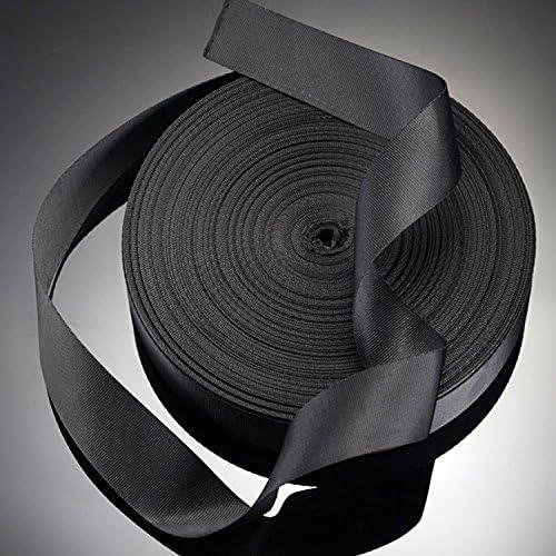 ゴシレ Gosear 50ヤード模倣ナイロンウェビングストラップ20pcs フラットサイドリリースバックルの DIY のための荷物ストラップペットカラーバックパックの修理を作る