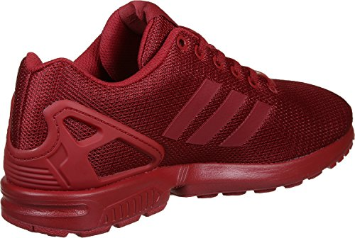 Sneakers Zx Flux Adidas power Homme Red collegiate Burgundy Basses Red Rouge power qAEqwxndr