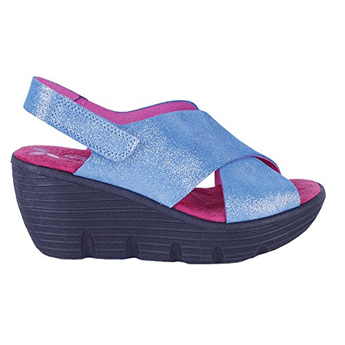 Wedge Sandals Comfort Turquoise Women's Helle Gipsy cwFatHn
