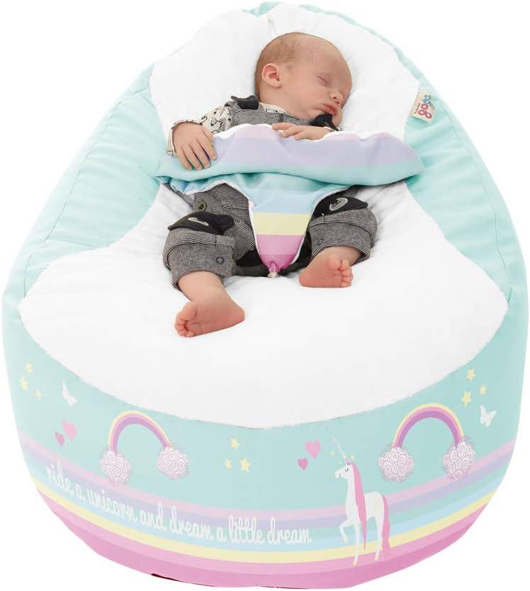 Puf personalizable con diseño de unicornio Gaga+: Amazon.es: Bebé