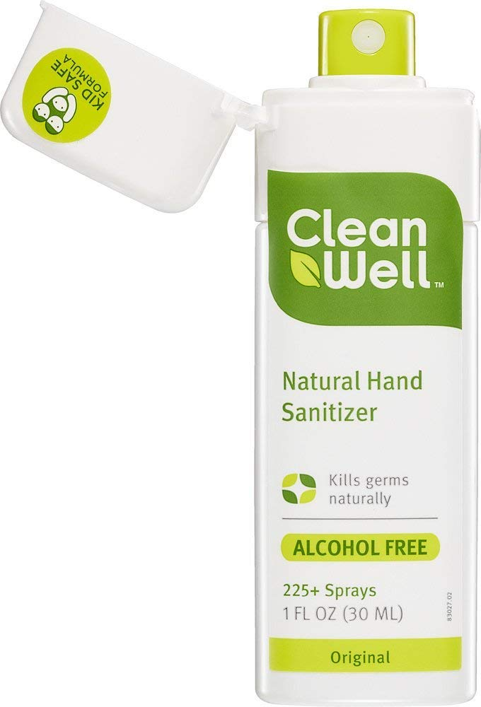 CleanWell Natural Hand Sanitizer Spray - Original Scent, 1 Ounce (Pack of 6) by Cleanwell (Image #10)