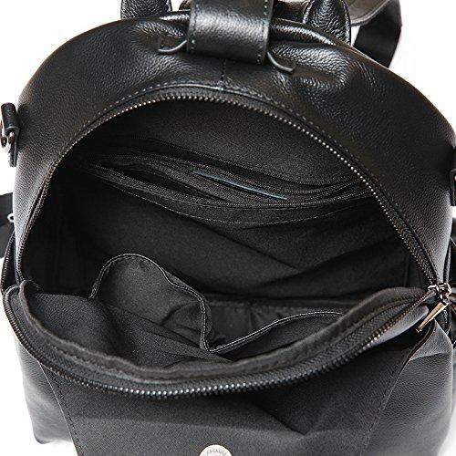GUANGMING77 Meine Damen_Damen Mit Frauen Schultern Rucksack Rucksack black