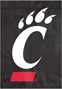 Party Animal Cincinnati Bearcats NCAA Garden Flag