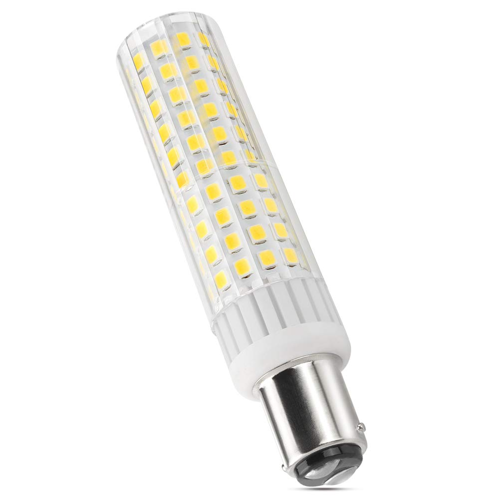 AC 120V Lndoor Lighting LED Globe Bulbs Dimmable Warm White 3000k BA15D LED Light Bulb 8W 1150lm,Equivalent Halogen Bulbs 100W-120W for Ceiling Fan